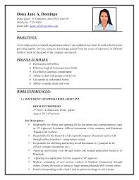 Sample Resume For Encoder by Dona Jane Abatayo Cv New