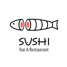 Vector Logo Design Element For Sushi Restaurant Japanese Cuisine