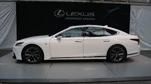 sporty lexus sedan 2018 lexus ls 500 f sport is a more aggressive luxury sedan