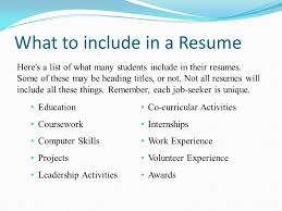 What To Put In Skills On Resume Not To Include In Resume Building Resumes That Get You Hired Can