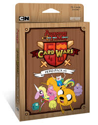 wars cards adventure time card wars pack 1 cryptozoic entertainment