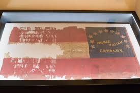 Cavalry Flag Prince William Cavalry U0027s Civil War Era Flag Finds Home At Winery