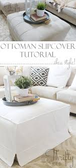 Slipcover Ottoman Thrifty And Chic Diy Projects And Home Decor