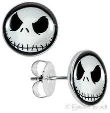 surgical steel earrings 2017 wholesale studs earring surgical steel nightmare before