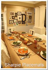 easy thanksgiving table setting ideas