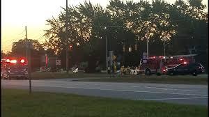multi car accident shuts down part of michigan avenue in canton