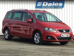 mpv car 2017 seat alhambra 2 0 tdi cr excellence 184 red 2017 in newquay