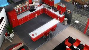 sims 3 cuisine paradise rdc salon salle à manger cuisine wc les sims 3