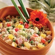 cuisine salade de riz salade de riz antillaise recettes cuisine et nutrition