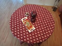 Round Table Discount Codes Mohana Round Wine U0026 Coral Moroccon Table Cloth See Dinner Napkins