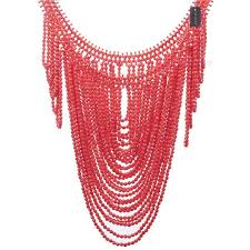fashion beads necklace images African fashion jewelry vintage statement body shoulder bib full jpg