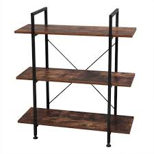 what of wood is best for shelves 3 tier industrial bookcase and book shelves vintage wood and metal bookshelves