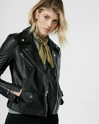 motorcycle style leather jacket women u0027s jackets shop jackets for women