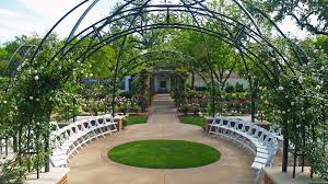 Dallas Botanical Gardens Wedding Daytime Ceremony Reception Spaces Dallas Arboretum