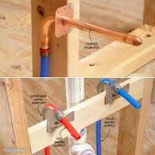 bathroom sink sink water valve installing sink drain water