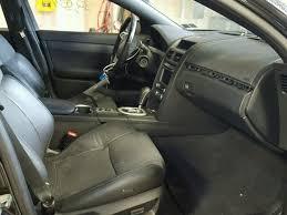 2008 Pontiac G8 Interior Certificate Of Salvage 2009 Pontiac G8 Sedan 4d 6 0l 8 For Sale In