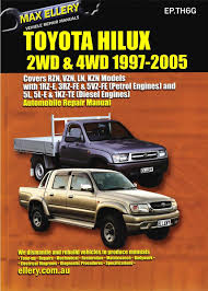 max ellery workshop repair manual hilux pickup 1997 2005