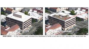 city asked to allow roof decks downtown palo alto daily post