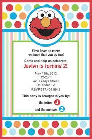elmo birthday invitations u2013 frenchkitten net