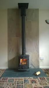 aga little wenlock classic wood burning stove flames