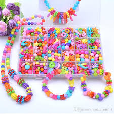 string beads necklace images Best kids beads diy beads children string beads make up puzzle jpg