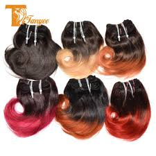 Red Blonde Hair Extensions by Cheap Cheap Ombre Hair Extensions Brazilian Virgin Hair Body Wave