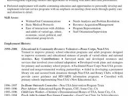 Employment History Resume Volunteer Experience On Resume Examples Resume Ideas