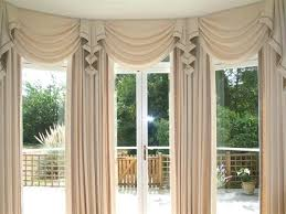 valances and swags floating valance with panels curtain scarf
