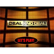 deal or no deal powerpoint game template interactive whiteboard