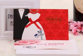 Bride To Groom Wedding Card 2015 Traditional Tuxedo U0026 Dress Bride U0026 Groom Design Wedding