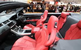 range rover coupe interior land rover range rover evoque convertible concept 2012 geneva