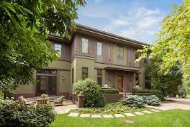 Prairie Home Style Prairie Style Home In Evanston 1 5m Chicago Tribune