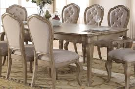 Acme Dining Room Sets by Acme Chelmsford Dining Table In Antique Taupe 66050