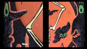 vintage halloween cartoons a vintage halloween minute with mbl 10 beistle skeleton die cut