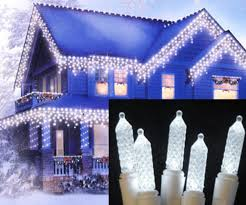 northlight white led m5 twinkle icicle