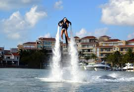 water sports activities in cancun riviera mexico jetpack