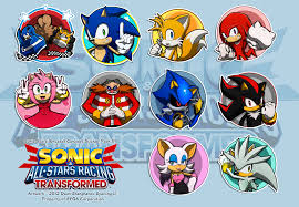 sonic all stars racing transformed gallery news network all stars transformed sticker concept syaming dlmzp