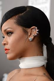 pic of black women side swept bangs and bun hairstyle top 25 easy and beautiful ponytail hairstyles