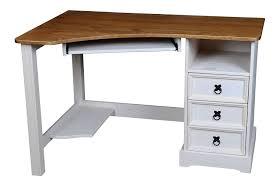 Schreibtisch Massivholz Eckschreibtisch Schreibtisch Mexico Computertisch Pinie Massivholz