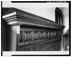 elizabeth plankinton house mantel on third floor historic home