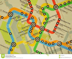 Map Of Metro by Map Of Metro Routes Editorial Image Image 61692495