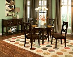 asian buffet dining room contemporary with big round mirror igf usa