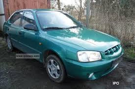 hyundai accent 2000 model 2000 hyundai accent 1 3i gls car photo and specs