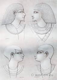 information on egyptain hairstlyes for and ancient egypt hairstyles from various periods costume history