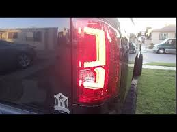 2008 Chevy Silverado Led C Streak Tail Light Youtube