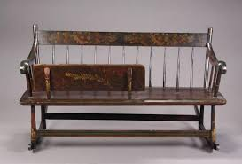 an antique wooden mammy bench rocker current price 0