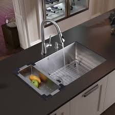 Installing A Kitchen Sink Faucet Kitchen How To Install Undermount Sink At Modern Kitchen Design