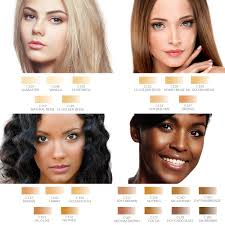 dinair airbrush makeup foundation kit 4pk glamour set fair