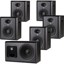 jbl home theater subwoofer jbl lsr6328p u0026 lsr6312sp 5 1 studio monitor lsr6328p 5 1 b u0026h