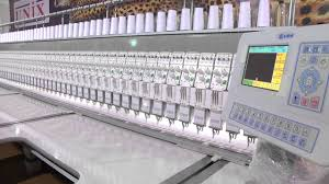 unix mini schiffli embroidery machine 86 head youtube